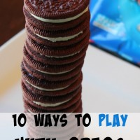 10 Ways to Play with OREOs