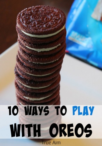 10 Ways to play with OREOs, make art, learn math, fun recipes!