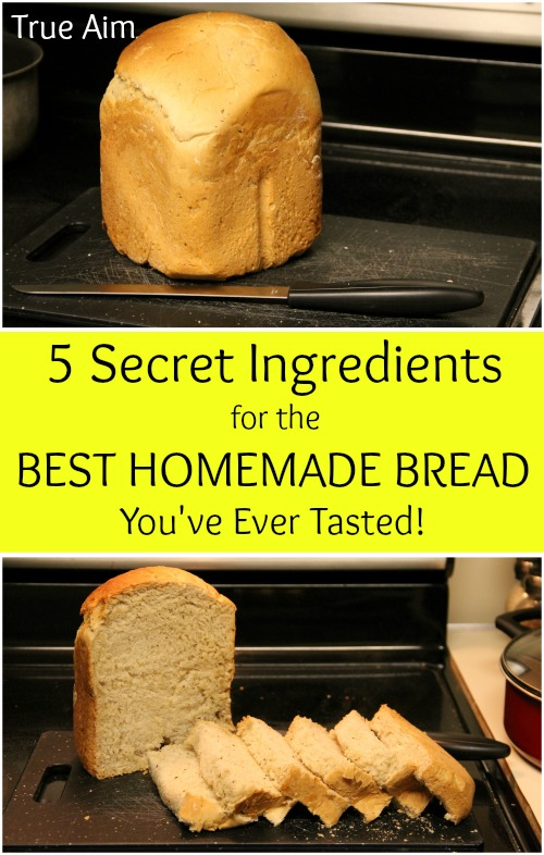 5 Secret Ingredients for the Best Homemade Bread You've Ever Tasted - Add these ingredients to any ordinary bread recipe to make it absolutely delicious!