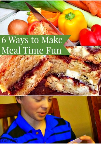 6 ways to make meal time fun. Easy tips to do right now!
