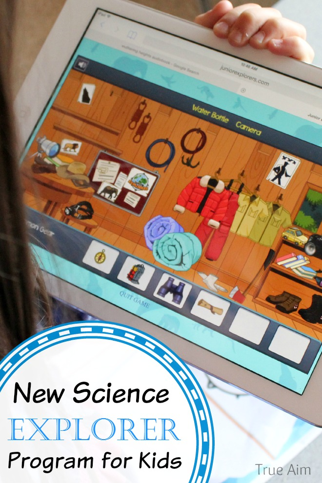 New Science Learning Explorer Program - Online and offline activities!