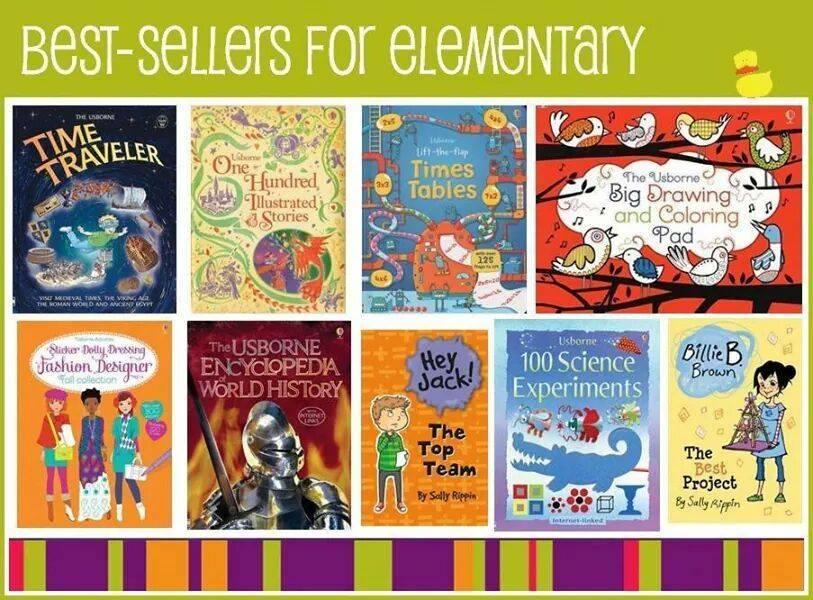 elementary best sellers