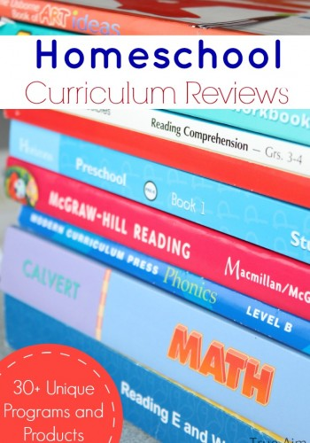 Homeschool Curriculum Reviews - 30 reviews on unique programs and products to help you homeschool