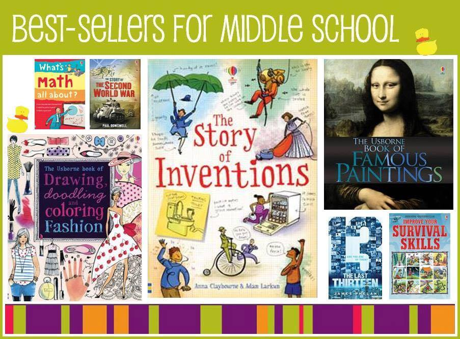 middle school best sellers
