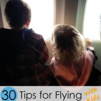 30+ Tips for Flying with Kids