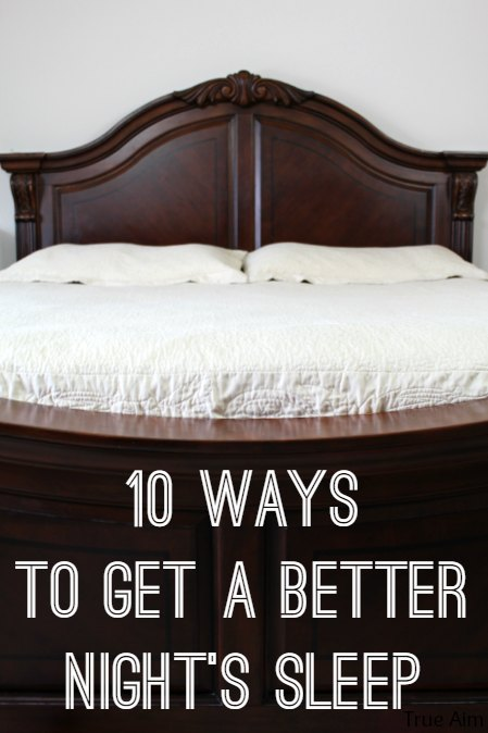 10 ways to get a better night's sleep - Great tips on how to fall asleep fast and stay asleep