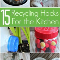 15 Recycling Hacks for the Kitchen: Make Old Things New