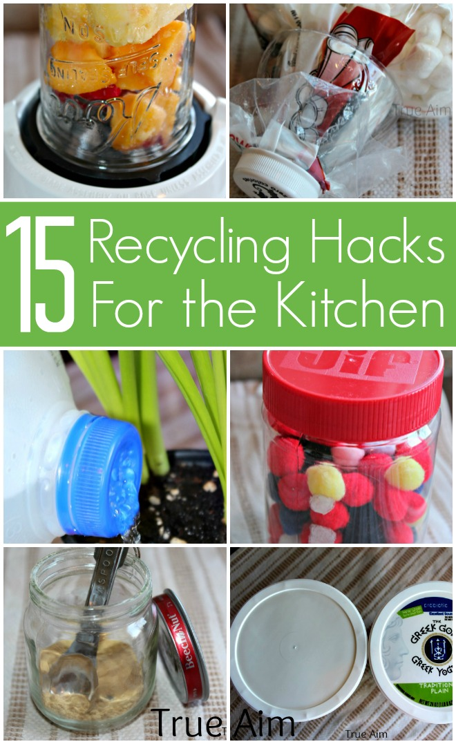 Don't throw it away! - 15 Recycling Hacks for the Kitchen