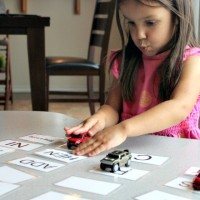 Learn to Read Activity: Flash Card Races