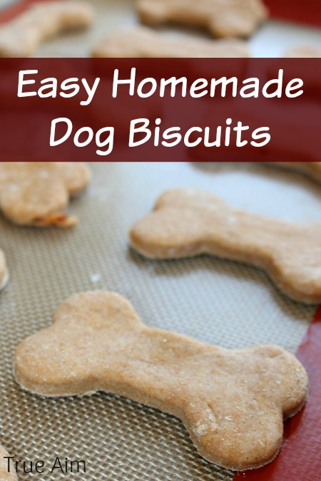 Easy homemade dog biscuit recipe