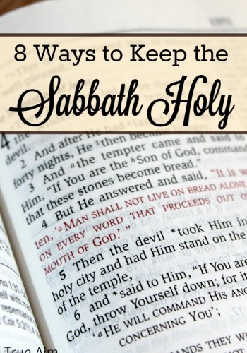 Keep the Sabbath for Your Kids' Sake