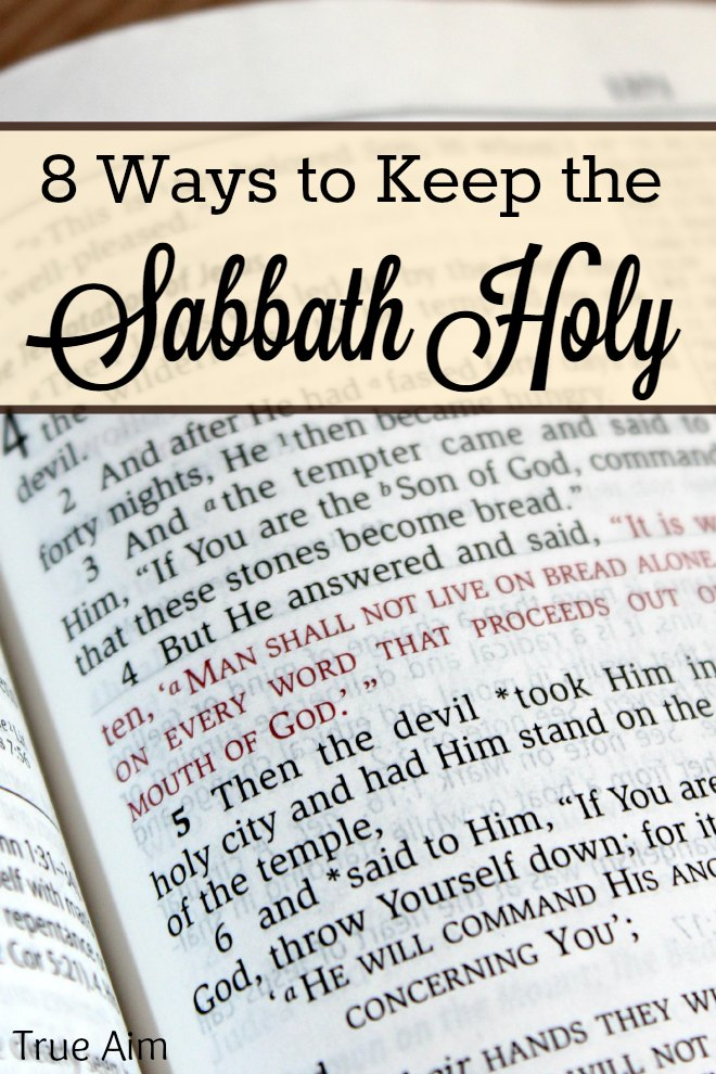 How to Keep the Sabbath Holy