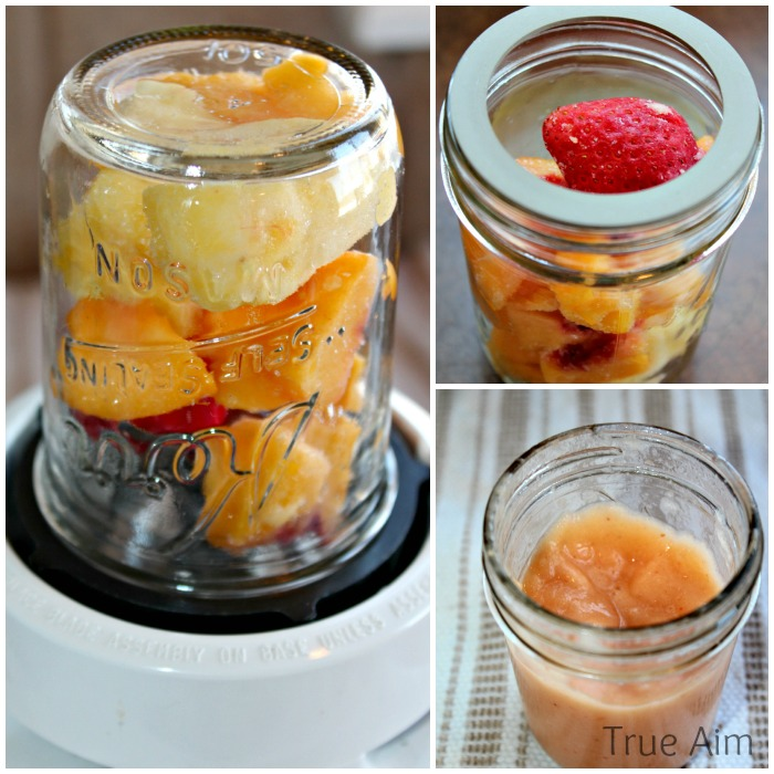 Mason Jar Blender - 15 Recycling Hacks for the Kitchen