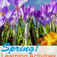 Spring Learning Activities and Mom's Library #132