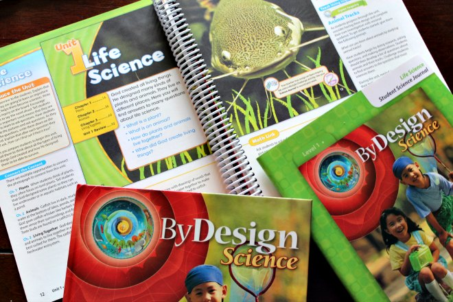 By Design Christian science homeschool curriculum
