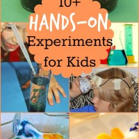 10+ Hands-on Science Experiments and Mom's Library!