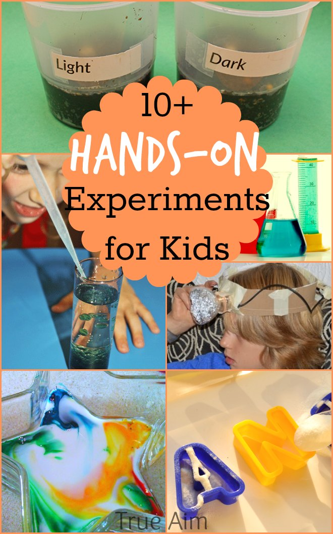 !0+ hands on science experiments for kids