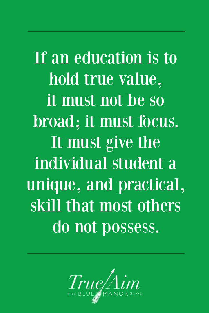 homeschooling marketable skills quote
