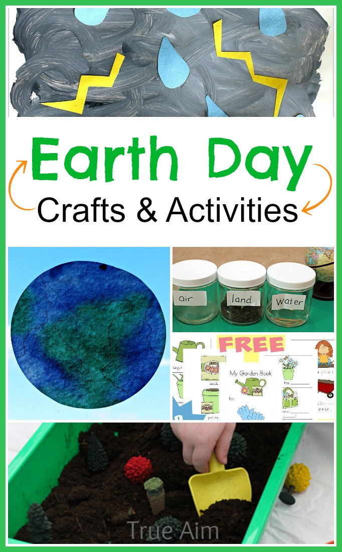 Earth Day Crafts and Activities for kids