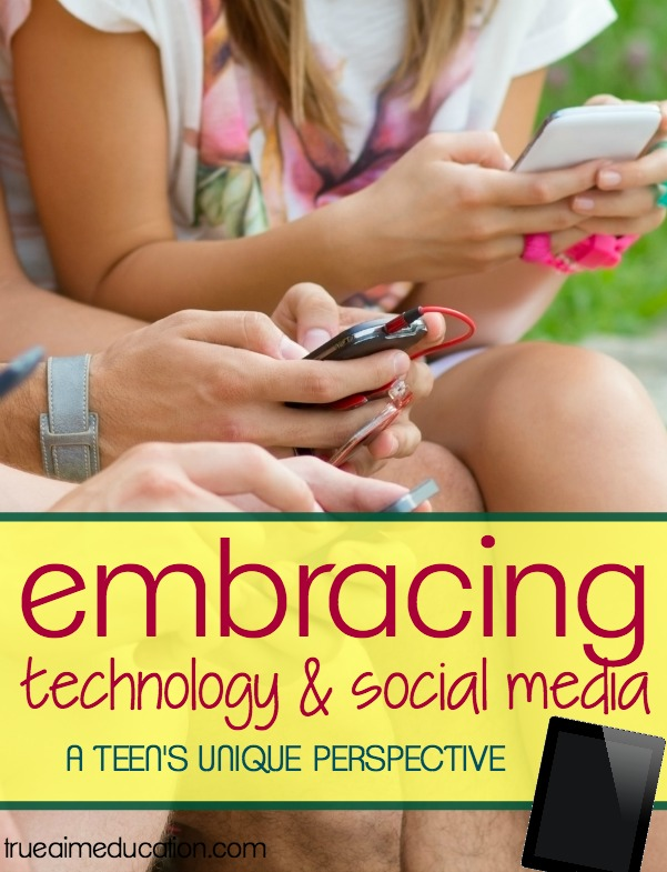 Why Technology is good for your teens!