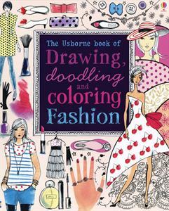 Fashion art activity book