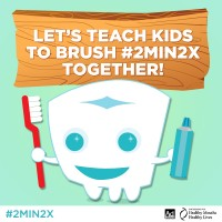Teaching Oral Health #2min2x Plus Giveaway!