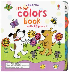Lift Out Colors fine motor book