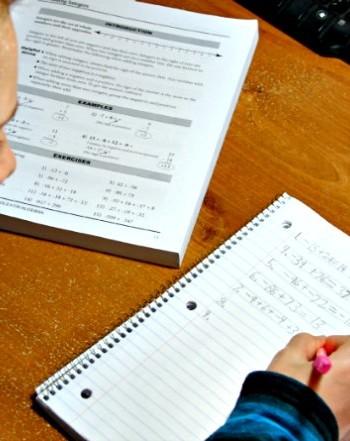 Math Essentials algebra homeschool curriculum