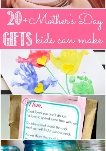 20+ Mother's Day Gifts Kids Can Make