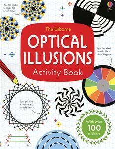 Optical illusions art activity book