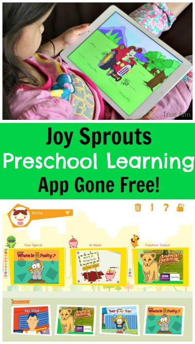 Preschool learning app gone free