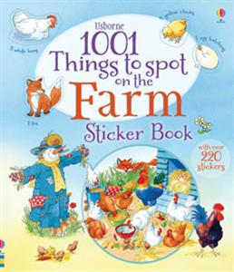 Things to Spot on the Farm Sticker Book