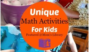 Unique Math Activities for kids