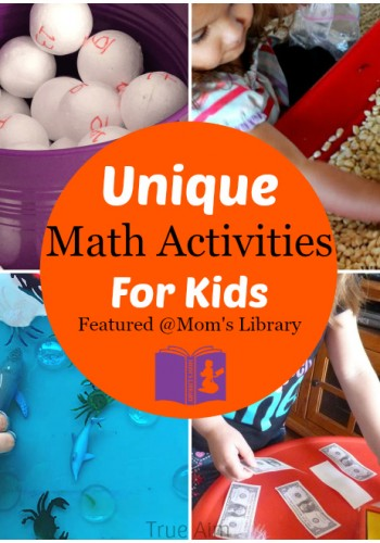 Unique Math Activities for kids