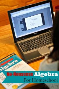 algebra curriculum for homeschool
