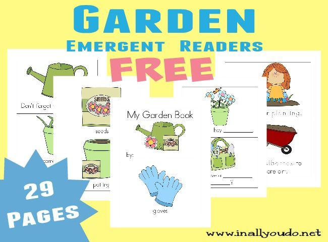 free garden early readers