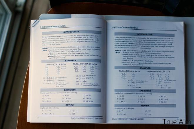 no nonsense algebra homeschool curriculum