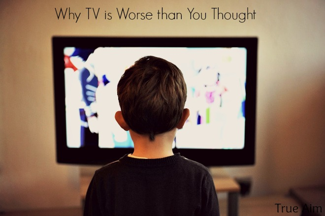 Why tv is dangerous