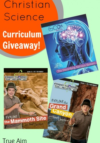 Christian science homeschool curriculum giveaway