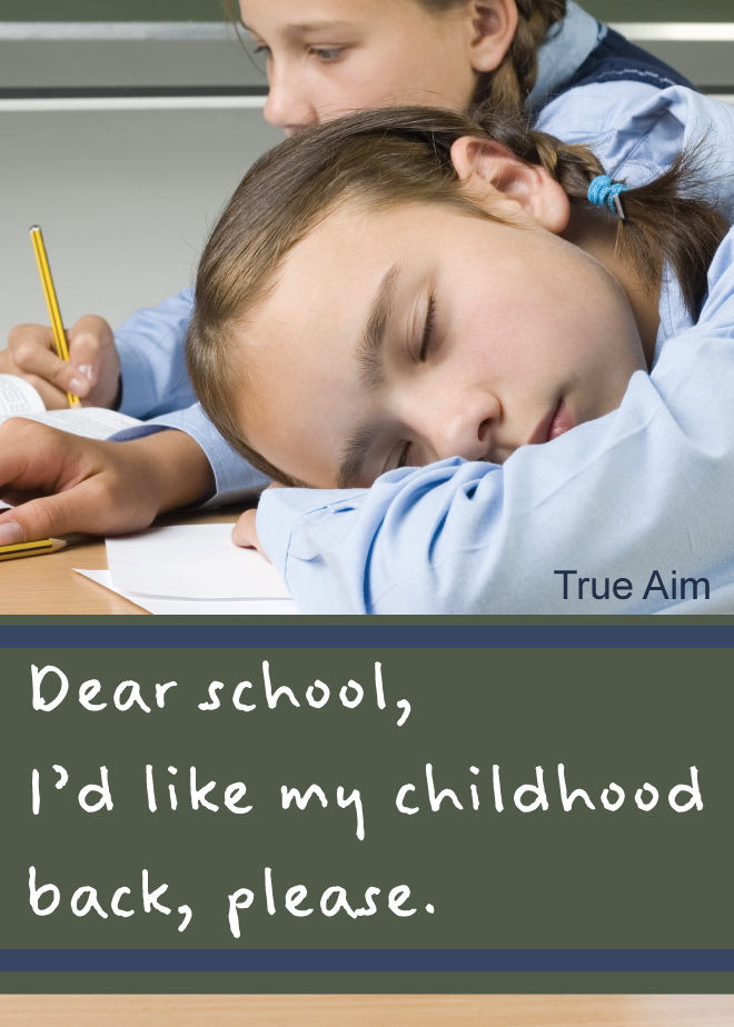 dumbest argument against homeschooling ever true aim dear school i want my childhood back