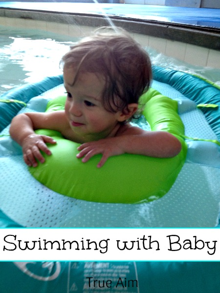 How to Swim with Baby