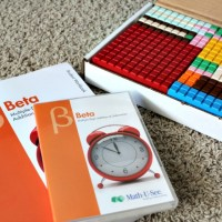 Giveaway! Hands-on Math Curriculum with Math-U-See!