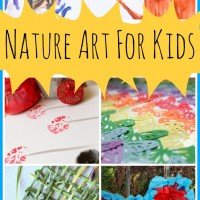 Nature Art Activities and Mom's Library #139