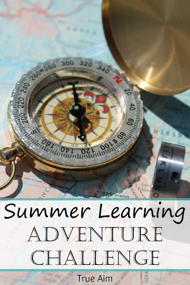 Summer Learning Adventure Challenge for Elementary Kids - the Coolest thing to do to prevent summer slide.