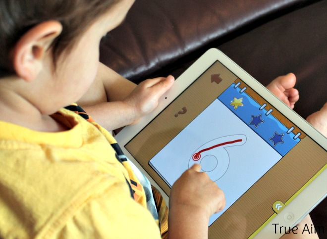 easy handwriting app for kids