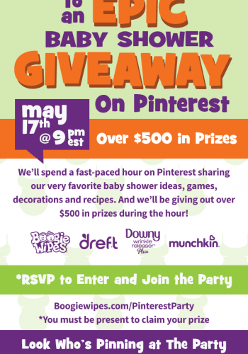 You're Invited to an EPIC Baby Shower and Giveaway!