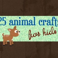 25 Animal Crafts for Kids