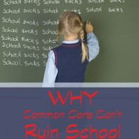 Why Common Core Can't Ruin School