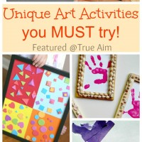 15 Out of the Box Art Activities you MUST try!