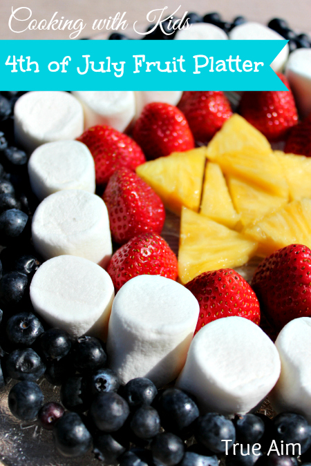 4th of July Fruit Plate for Kids